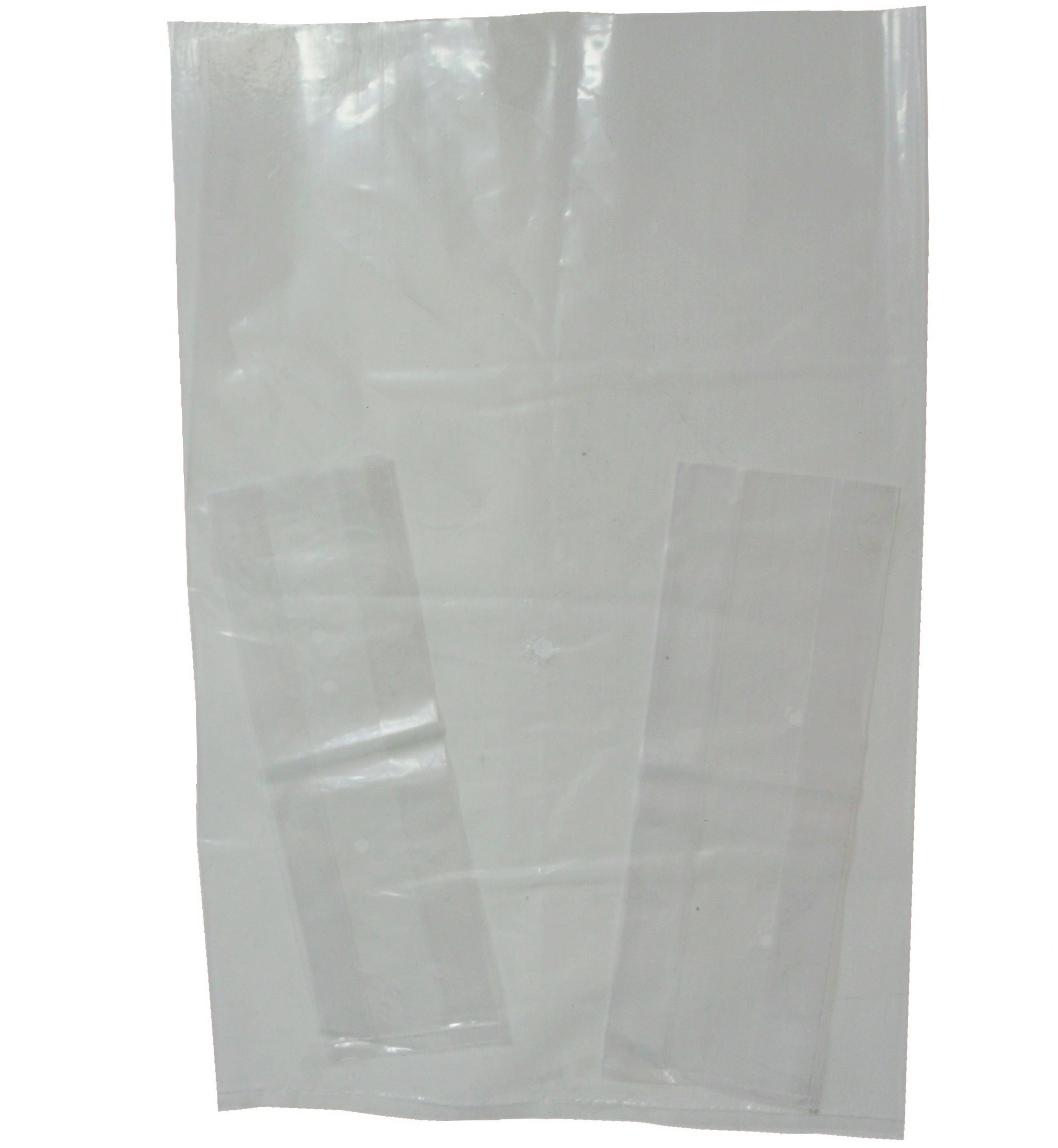 14x24 - 120g Clear Perf. Poly Bags