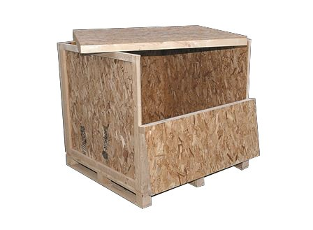 Timber cases and crates
