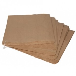 7x7 - Brown Strung Paper Bags