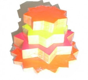 Assorted Dayglow Cards