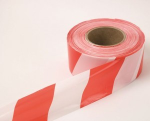 Non adhesive hazard / Barrier tape