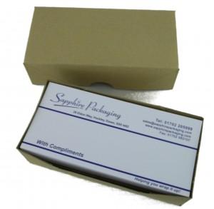 4x8½ - Comp. Slip Box & Lid (1/3rd A4)