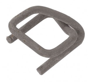 Strapping buckles - for use with woven polyester and polypropylene strapping