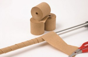 Crepe paper rolls