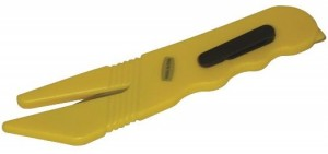 Moulded safety cutter