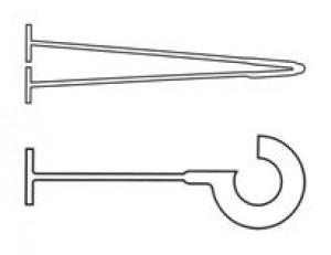 Polypropylene loop and hooks