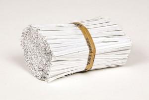 Paper coated twist ties