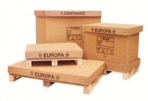 Palletboxes (flat packed)