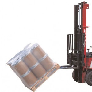 Shrink polythene pallet covers