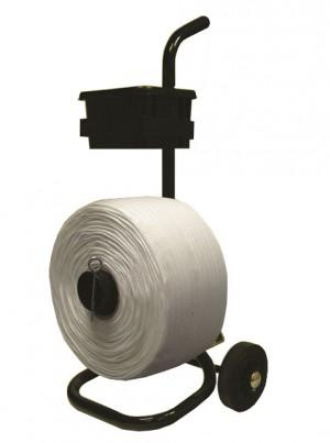 Woven polyester dispenser
