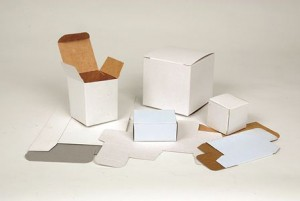 White solid board cartons